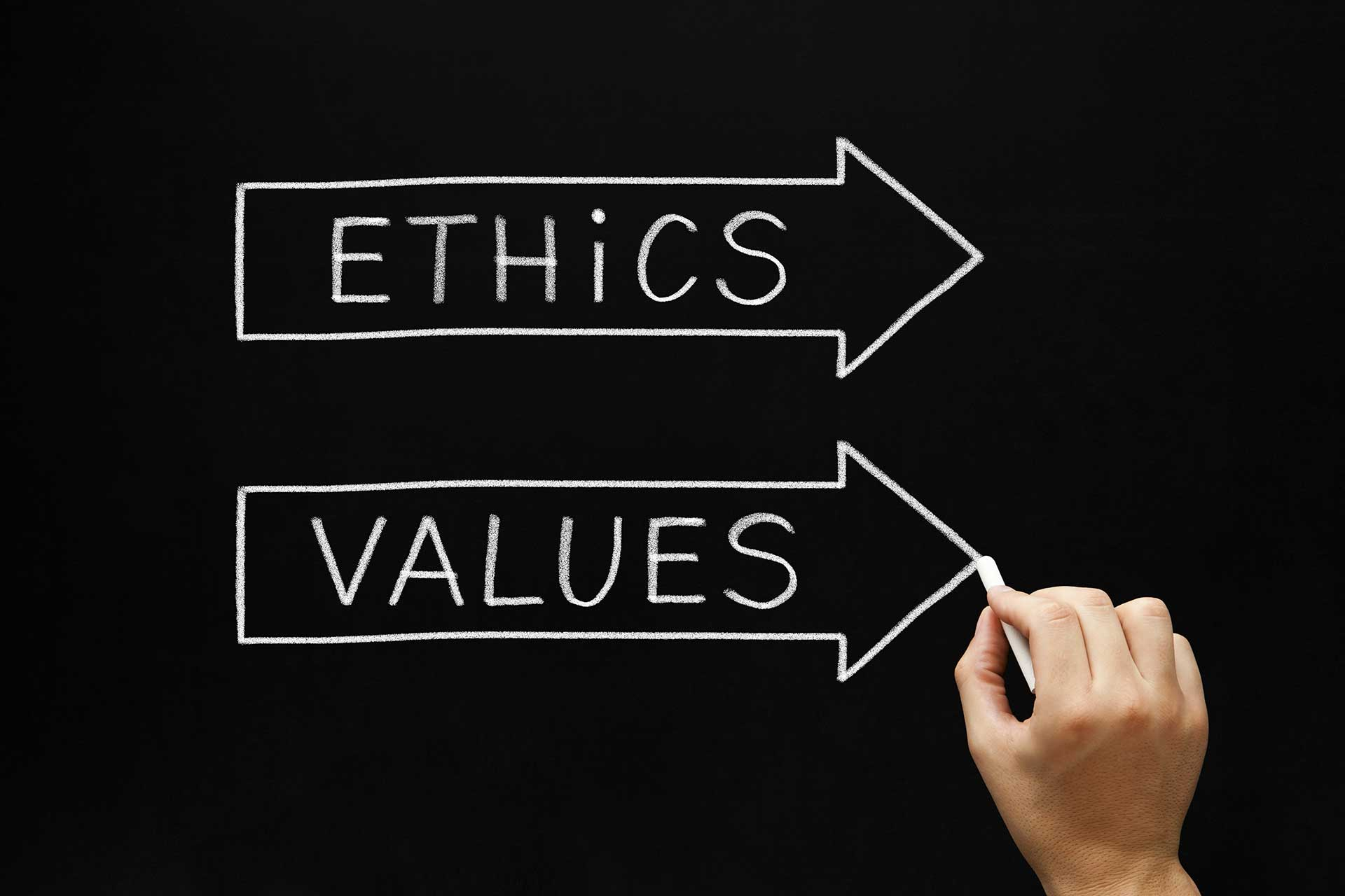 Ethics, values